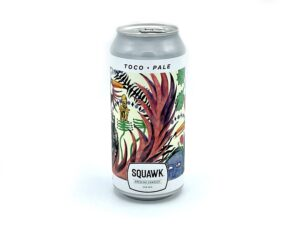 Beehive Food Squawk Toco Pale Ale single can